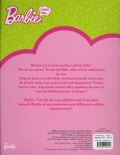 Barbie, i can be ; vétérinaire au zoo - 4ème de couverture - Format classique