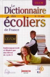 Dictionnaire des écoliers CM - Couverture - Format classique