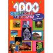 1000 questions réponses - Couverture - Format classique