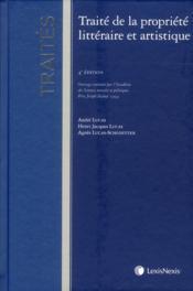 Traité de la propriété littéraire et artistique - Couverture - Format classique