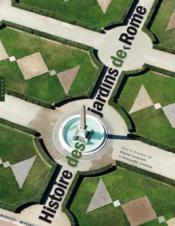 Histoire des jardins de Rome - Couverture - Format classique