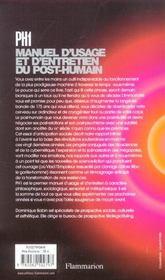 Ph1 - 4ème de couverture - Format classique