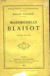 Mademoiselle Blaisot. - Couverture - Format classique