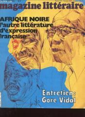 Magazine Litteraire N°195 - Afrique Noire L'Autre Litterature D'Expression Fran9aise - Couverture - Format classique