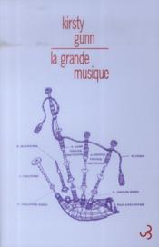 La grande musique - Couverture - Format classique
