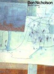 Ben Nicholson - Couverture - Format classique