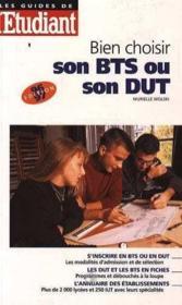 Bien Choisir Son Bts Iut - Couverture - Format classique