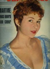 CINEMONDE - 26e ANNEE - N° 1227 - MARTINE VOUS OUVRE SON COEUR - Couverture - Format classique
