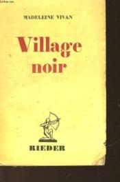 Village Noir - Couverture - Format classique