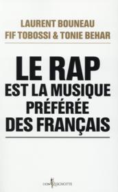 Le rap est la musique préférée des Français - Couverture - Format classique