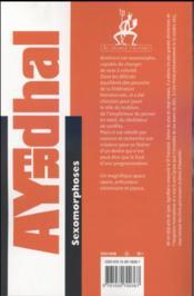 Sexomorphoses - 4ème de couverture - Format classique