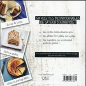 100 % meilleurs desserts d'antan - 4ème de couverture - Format classique