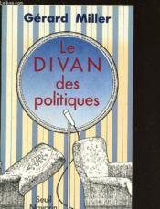 Le divan des politiques - Couverture - Format classique