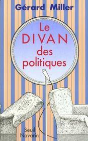Le divan des politiques - Intérieur - Format classique