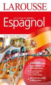 Dictionnaire Larousse poche plus espagnol - Couverture - Format classique