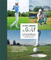 Petit Larousse du golf - Couverture - Format classique