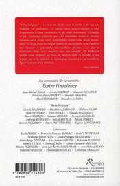 Écrire l'insolence t.5 - 4ème de couverture - Format classique