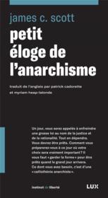 Petit éloge de l'anarchisme - Couverture - Format classique