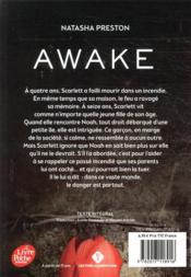 Awake - 4ème de couverture - Format classique