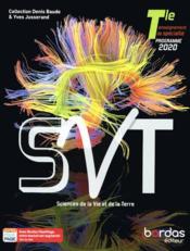 Baude Jusserand ; SVT ; terminale ; manuel de l'élève (édition 2020) - Couverture - Format classique