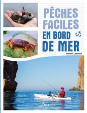 Pêches faciles en bord de mer - Couverture - Format classique