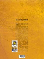 William Panama t.1 ; les cloches de waterown - 4ème de couverture - Format classique