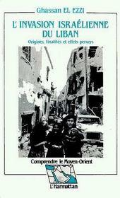 Invasion Israelienne Du Liban (L') - Intérieur - Format classique