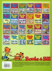 Boule & Bill T.16 - 4ème de couverture - Format classique