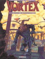 Vortex t.9 ; Tess Wood et Campbell - Intérieur - Format classique