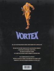 Vortex t.9 ; Tess Wood et Campbell - 4ème de couverture - Format classique
