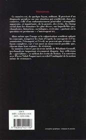 Revue L'Inactuel 04 - Resistances - 4ème de couverture - Format classique