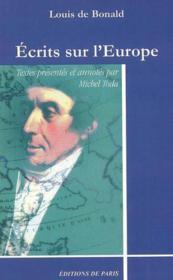 Écrits sur l'europe - Couverture - Format classique