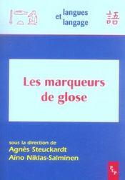 Marqueurs De Glose (Les) - Intérieur - Format classique
