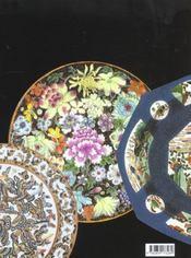 Porcelaines chinoises exportation - 4ème de couverture - Format classique