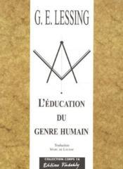 L'Education Du Genre Humain - Couverture - Format classique