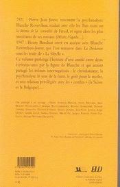 Pierre-jean jouve et henry bauchau ; les voix de l'altérité - 4ème de couverture - Format classique