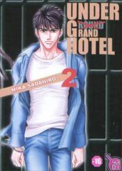 Under Grand Hotel T.2 - Couverture - Format classique