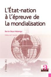 Etat Nation A L'Epreuve De La Mondialisation - Couverture - Format classique