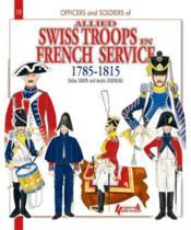 Suisses au service de la france (gb) - Couverture - Format classique