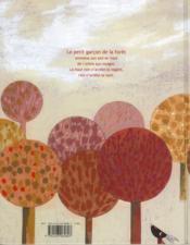 Le petit garçon de la forêt - 4ème de couverture - Format classique