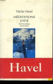 Meditations D'Ete - Couverture - Format classique