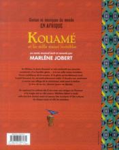 Kouamé et les mille mains invisibles - 4ème de couverture - Format classique