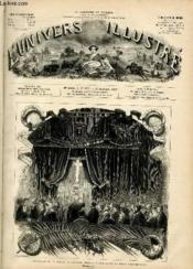 L'UNIVERS ILLUSTRE - VINGTIEME ANNEE N° 1173 - Funérailles de M. Thiers, chapelle ardent à l'hotel de la place Saint-Georges. - Couverture - Format classique