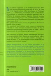 Au nom du vivant ; plaidoyer pour réconcilier l'homme et la nature - 4ème de couverture - Format classique