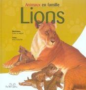 Animaux en famille ; lions - Intérieur - Format classique