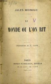 Le Monde Ou L'On Rit. - Couverture - Format classique