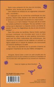 Nos amies les bactéries - 4ème de couverture - Format classique