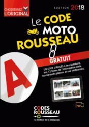 Code rousseau moto 2018 - Couverture - Format classique