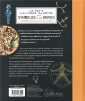 Petit Larousse illustré des symboles et des signes - 4ème de couverture - Format classique