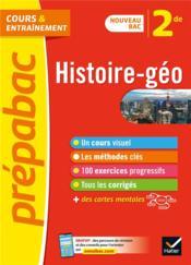 Prépabac ; histoire-géo ; 2nde - Couverture - Format classique